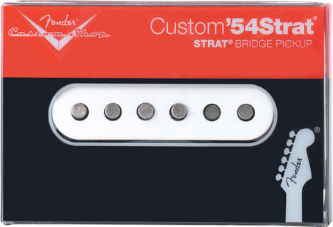 An individual bridge pickup from the Fender Custom Shop Custom '54 series.  Contains one pickup made for the bridge position.
