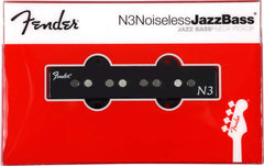 An individual neck Jazz Bass pickup from the Fender N3 Noiseless series, shown in its packaging