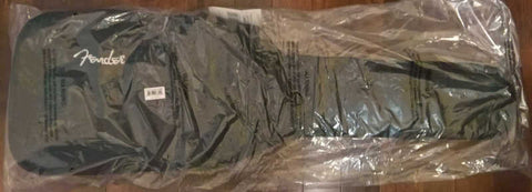 The Fender Urban Short Scale Bass Gig Bag wrapped and ready to ship