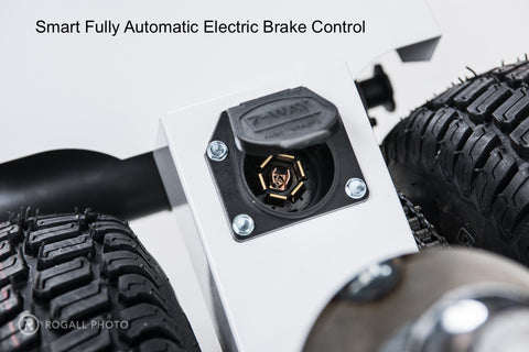 Smart Automatic Electric Brake Control for Electric Trailer Dolly