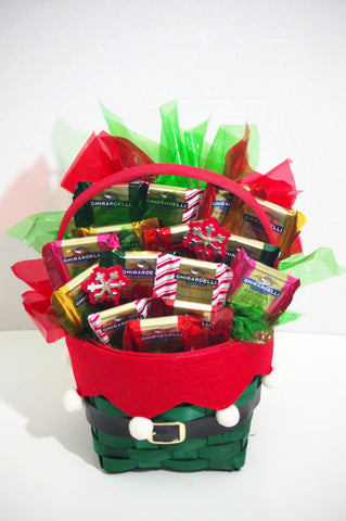 Ghirardelli Elf Basket