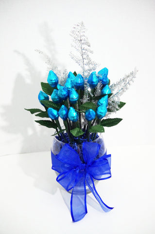 Holiday Blue Rose Bouquet