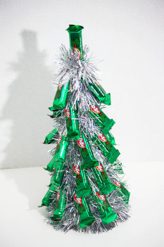 Christmas Tree - Silver Kit Kat