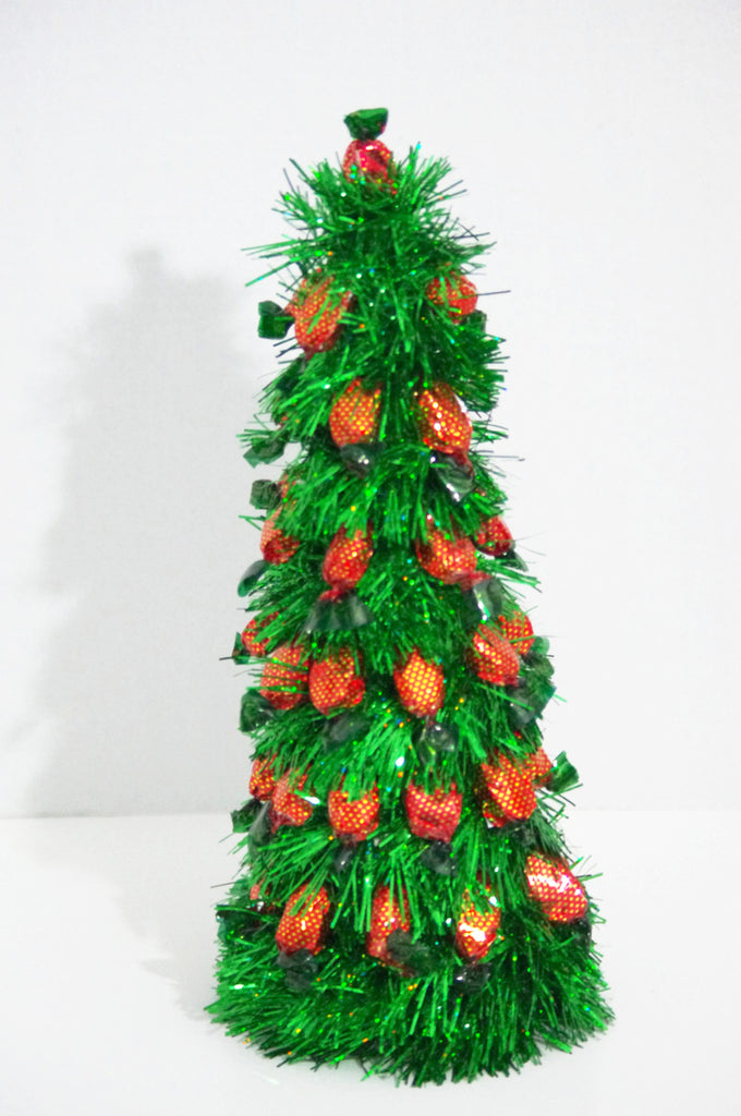 Christmas Tree - Green Strawberry