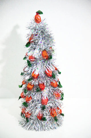 Christmas Tree - Silver Strawberry