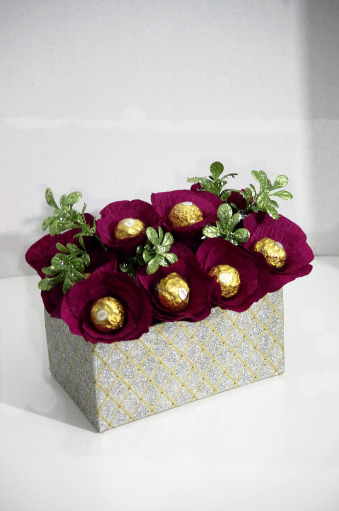 Ferrero Rocher Holiday Centerpiece