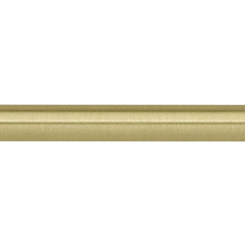 "1/2"" Cafe Rod 6' Satin Brass (Brass)"