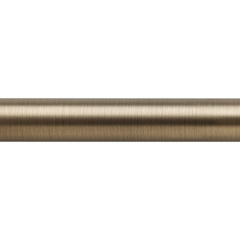 "1-3/16"" Pole 12' Brushed Brass (Brass)"