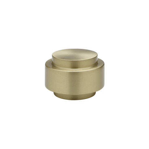 "1-3/16"" Aries Finial Satin Brass (Brass)"