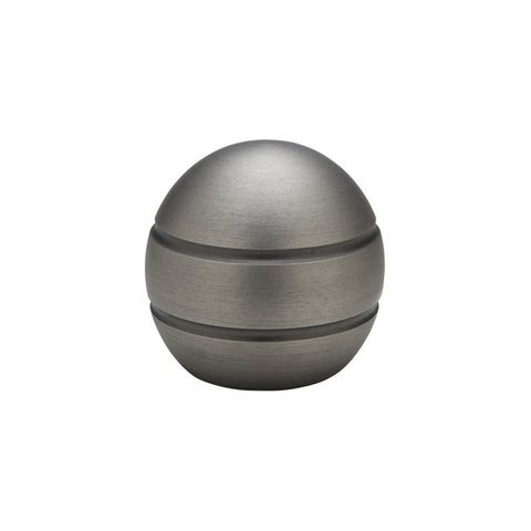 "1-3/16"" Modern Ball Finial Gunmetal (Brass)"