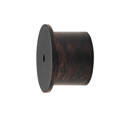 "1-3/16"" Inside Mt. Recess Bracket Black Copper (Iron Works)"