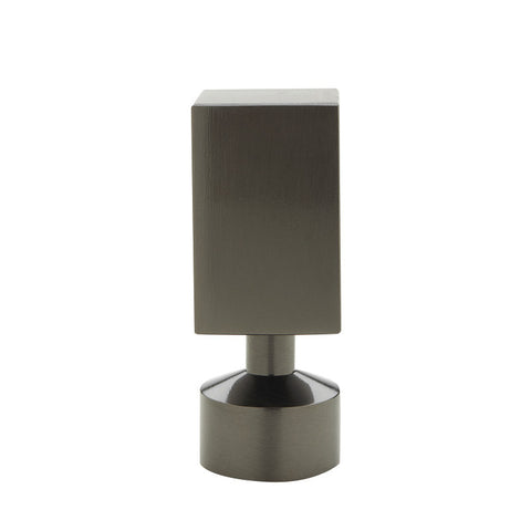 "1-3/16"" Empire Finial Graphite (Brass)"