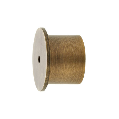 "1-3/16"" I.M. Recess Bracket Brushed Brass (Brass)"