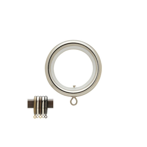 "1-3/16"" Rnd. Ring w/ Liner Steel (Brass)"