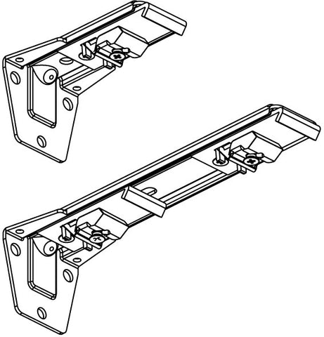 SINGLE ADJ. WALL BRACKET