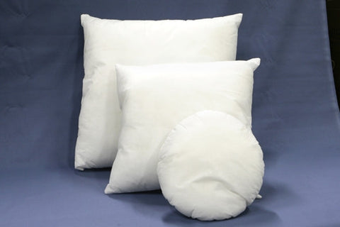 "12"" RD. POLY PILLOW"