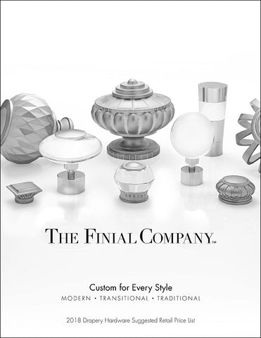 Finial Company Price List 2013