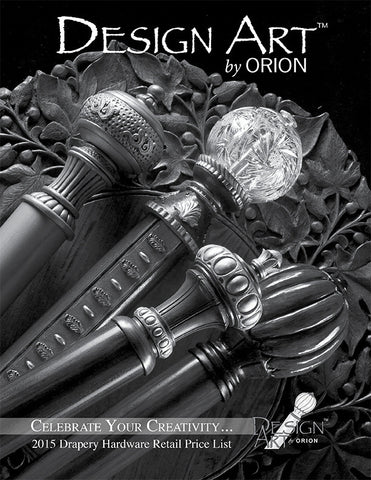 Orion Design Art Price List 2015