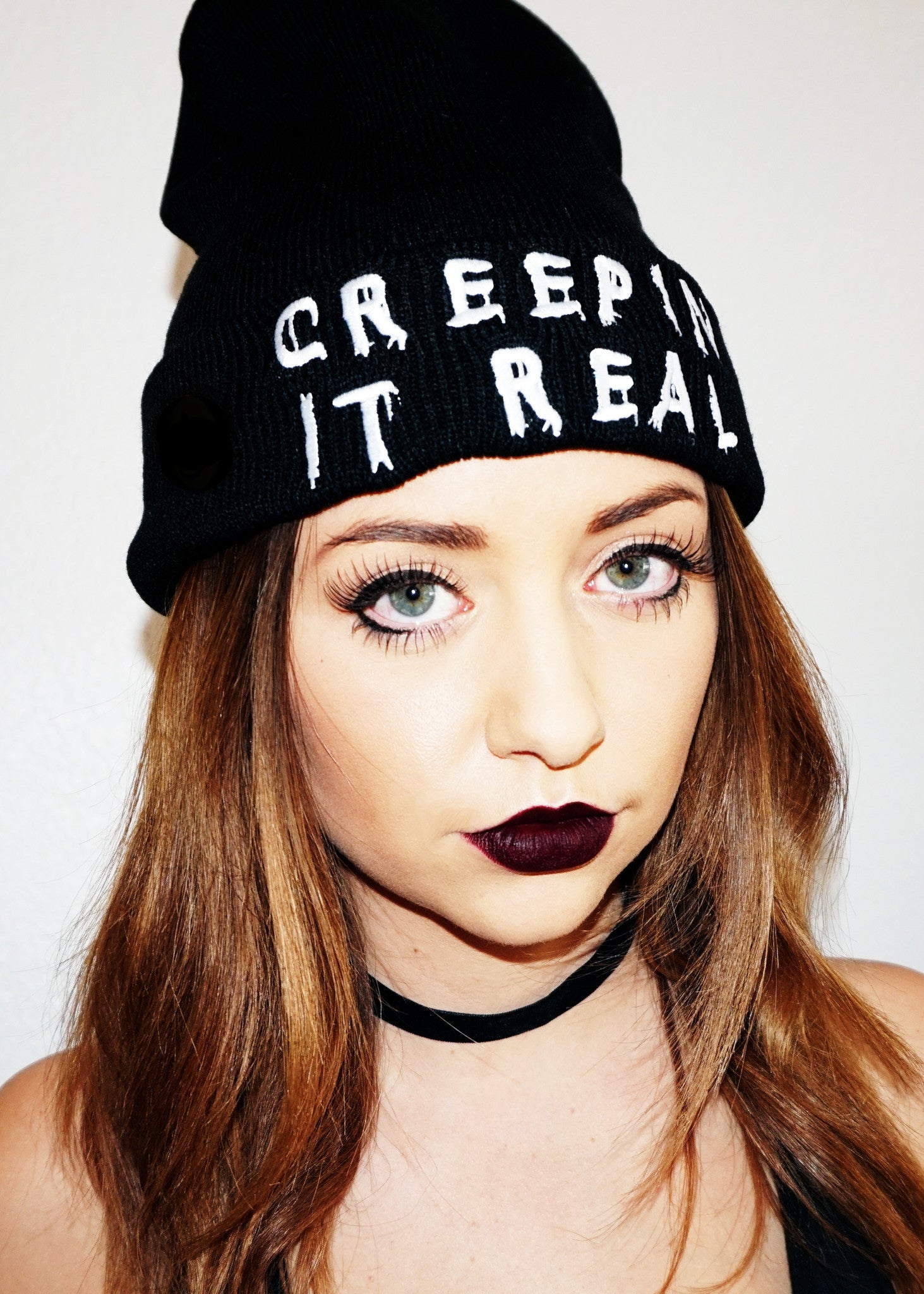 Creepin It Real Beanie (SOLD OUT)