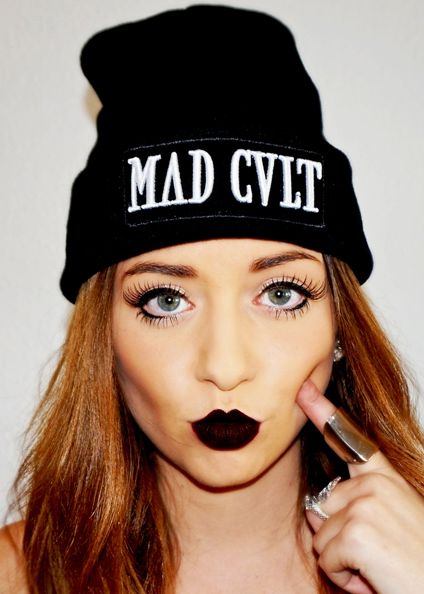 Black Mad Cult Logo Beanie (SOLD OUT)