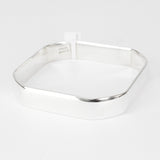 Hex Shape Bangle SS