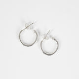 ZEE Silver Hoop Earring 12mm