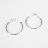 ZEE Silver Hoop Earring 20mm