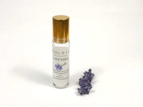 Lavender Essential Oil Roller - Sudsy & Co.