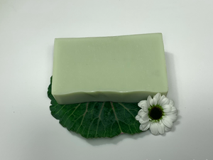 Olive Oil Facebar with Green Clay - Sudsy & Co.