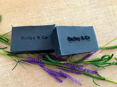 Charcoal Silk Bar - Sudsy & Co.