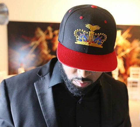 Haitian Crown Snap Back Hat