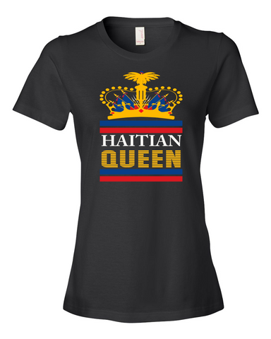 HAITIAN QUEEN  ROYAL CROWN TEE