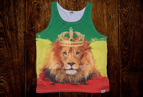 Mens Lion tank top -Type 1