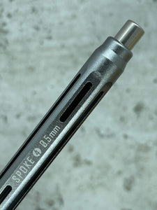 Model 4 / 8.3mm Titanium Grip / Storm Grey / 0.5mm