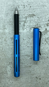Spoke Pen / Classic: Blue Anodize & Black Grip
