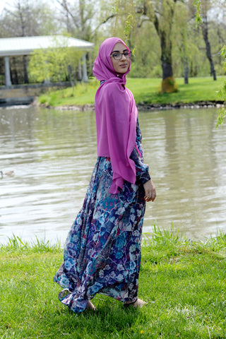 Asiyah Dress Azul