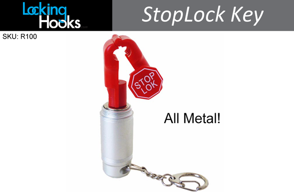 StopLock Magnetic Security Key for StopLocks and Hooks - LockingHooks.com - 1