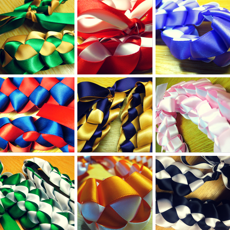 Ribbon Lei - Pick Your 2 Colors