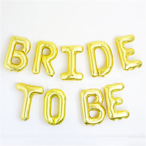 Bride to Be Foil Balloons