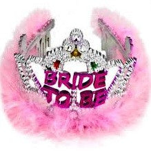 Bride to Be flashing Tiara