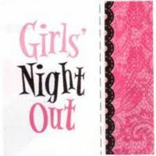 White Girls Night Out Napkins