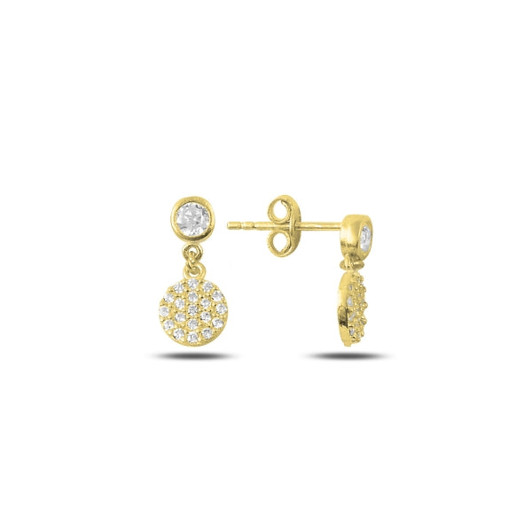 LARA DROP EARRINGS IN 14K GOLD PLATED - Byou Designs