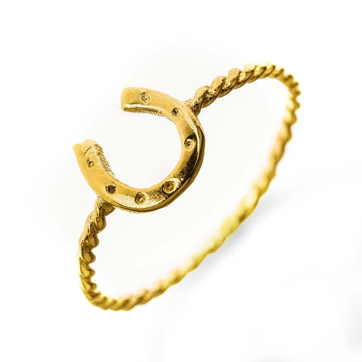 Horse Shoe 14k Gold Filled Ring