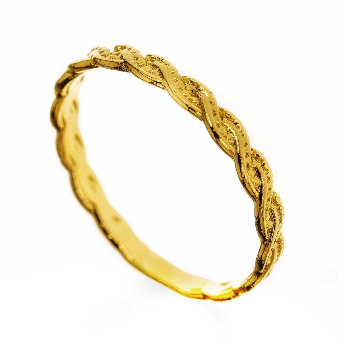 Knot Twist 14k Gold Filled Ring