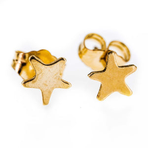 Dainty 14k Gold Filled Tiny Earring Stars Earstuds