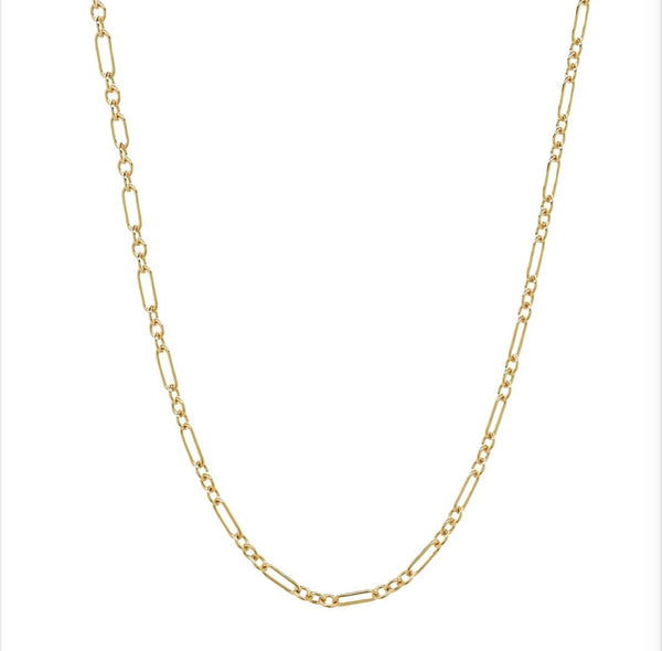Sophia Sleek 14k Gold Filled Chain Choker Necklace