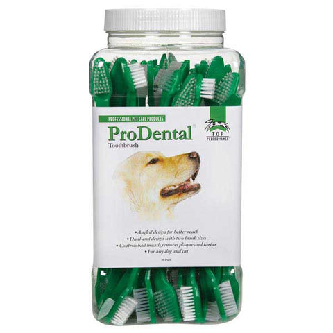 PRO-DENTAL DUAL END TOOTHBRUSHES