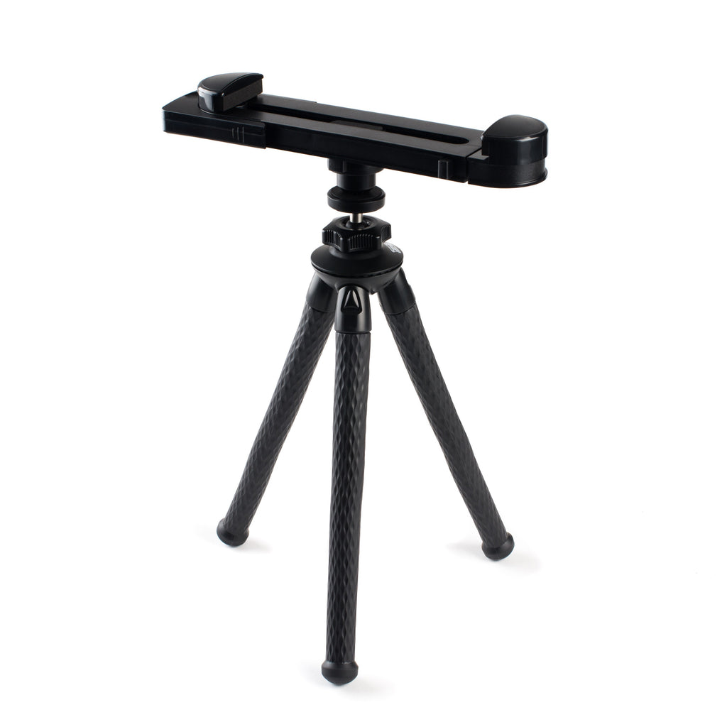 Rugged Flexible Tripod Kit - Fits any device and goes anywhere!