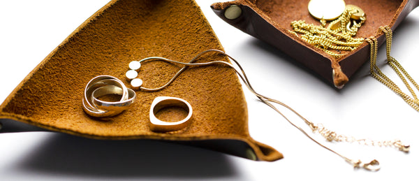 How to Make a Leather Jewelry Dish