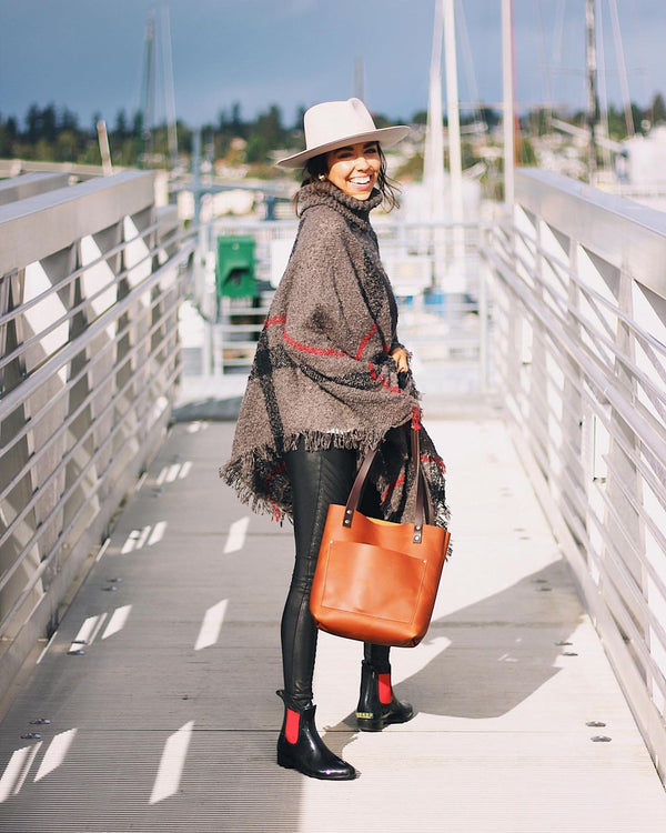 classic tote portland leather goods